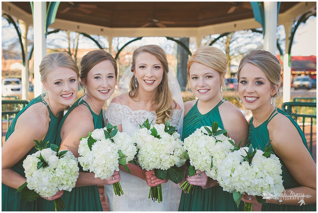 Collierville Wedding Photographer, Collierville Wedding Venue, The Quonset, Collierville Town Square, Wedding Party